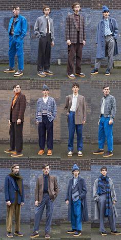 E. Tautz London Menswear Fall Winter 2018