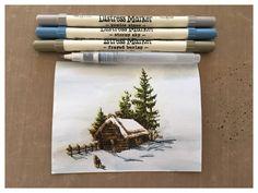 iGirlZoe: Scribble Woodland Christmas Card