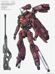 Orbital Sniper Development by emersontung.deviantart.com on @DeviantArt