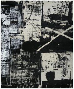 Giorgio Celiberti . 1995 , Giornata della memoria . Acrilico su tela ,   140 x 170 .