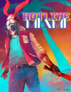 "Steven Donegani's ""Hotline Miami: The Jacket"""