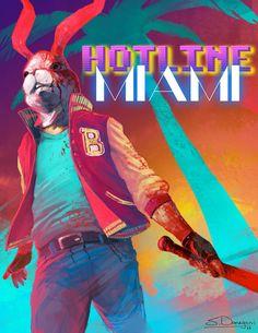 "Steven Donegani's ""Hotline Miami: The Jacket"""
