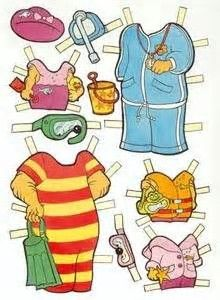 Image result for berenstain bears paper dolls free