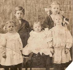 Siblings from the 1800s