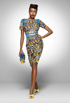 From the archive: a party look from Vlisco's 2011 'Tresor Brillant' collection |