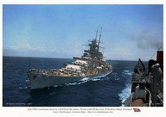 Gneisenau was a German navy capital ship, alternatively described as a battleship or battlecruiser of Germany's Kriegsmarine.