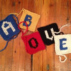 #typography #knitting