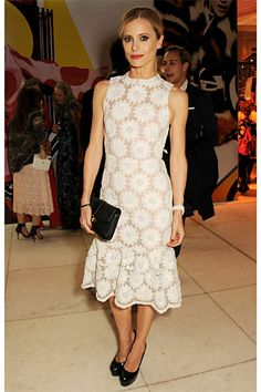In Bloom: The Best Floral Frocks - Laura Bailey in Simone Rocha