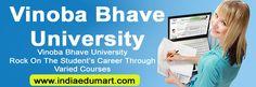 Join Now Vinoba Bhave University for Best Education