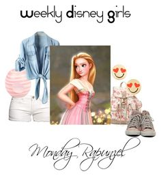 """""""Weekly Disny Girl"""" by beingbrunette on Polyvore"""