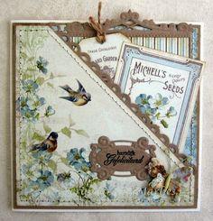 Weer eens wat anders - Scrapcards by Marlies
