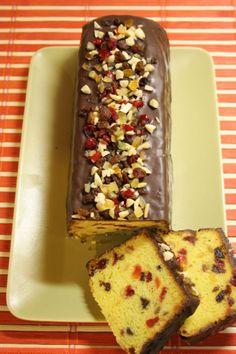 Biskupský chlebíček Czech Desserts, Fun Desserts, Delicious Desserts, Yummy Food, Slovak Recipes, Czech Recipes, Baking Recipes, Cake Recipes, Dessert Recipes