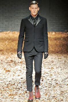 McQ by Alexander McQueen Fall-Winter 2012/2013 Menswear London Fashion Week ~ Men Chic- Men's Fashion and Lifestyle Online Magazine