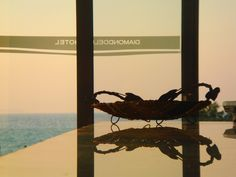 Amazing sunset views from Diamond Deluxe Hotel...