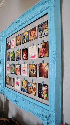 Picture frame border photo holder!