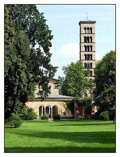 08.09.02.13.44 Potsdam, Park Sanssouci, Friedenskirche, Friedrich August Stüler, Ludwig Persius, Ludwig Hesse, Ferdinand v. Arnim