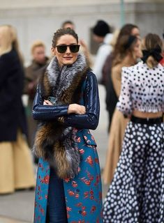 Olivia Palermo seen in the streets of Manhattan during the New York Fashion week on February 11 2019 in New York City Elie Saab, Christian Dior, Tommy Hilfiger, Milan, Burberry, Olivia Palermo Lookbook, Vogue, Spring Summer, Nyc