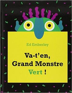 Go Away, Big Green Monster! (Hardcover) by Ed Emberley Petite Section, Kindergarten Smorgasboard, In Kindergarten, Good Adjectives, Big Green Monster, Ed Emberley, Nouns And Verbs, Lakeshore Learning, First Grade Teachers