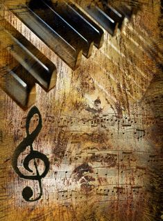 Photo about Vintage music background with piano. Image of background, home, audiophile - 17282547 Arte Do Piano, Das Piano, Piano Art, Piano Music, Art Music, Mixed Media Photography, Vintage Photography, Creative Photography, Music Poster