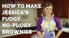 No more ditching #desserts! Spoil your sweet tooth without spoiling your #diet. Whip up a batch of my deliciously HEALTHY Fudgy No-Pudgy #Brownies. (A tasty treat for Memorial Day BBQs too!)   #weightloss #dieting #recipes #healthy #brownies #sweets #tips #losingweight #diet #snacks