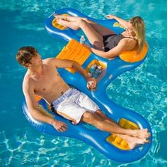 NEED! Double Pool Lounger for river tubing.