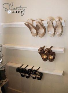 Shoe Organizers DIY