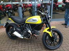 Ducati scrambler.  I only need one St Nick?