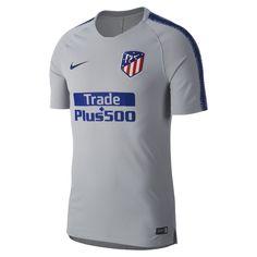 Atletico Madrid Badge, Nike Swoosh, Trade Plus sponsor Postage: Free in U. Breathe, Football Tops, Squad, Nike Men, Shorts, Grey, Products, Athlete, Ash