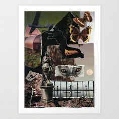Dreams of Fields Art Print by Feral Doe - $15.00