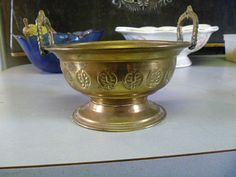 Urn  Brass  Decorative and Ornamental  From by TinTack on Etsy, €10.00