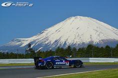 RACES 2013 Series GALLERY | SUPER GT OFFICIAL WEBSITE    Mt. FUJI and GT500 HONDA HSV-010GT