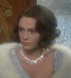Jacqueline Bisset in Agatha Christie's 'Murder on The Orient Express', 1974.
