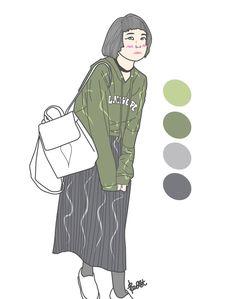 Reference gogirl style #artwork #digitalart #gogirl #ggrep #fashionblogger