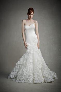 Enozoani princess wedding gown