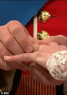 With this ring.......