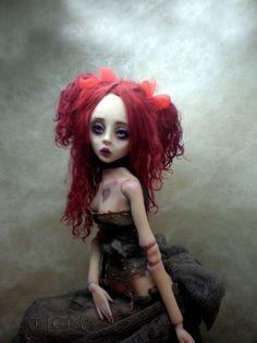 Ruby The invitation ...Vampire by *cdlitestudio