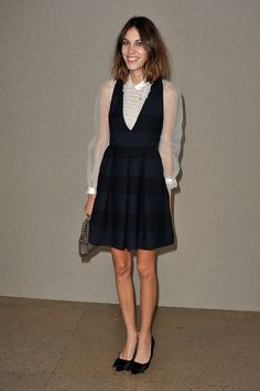 alexa chung modelling young - Google Search