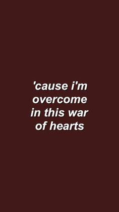 War of Hearts - Ruelle