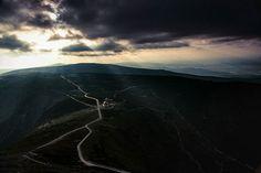 Fot. Piotr TrachtaZachód słońca nad Równią - widok ze szczytu