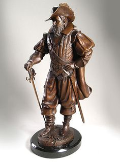 captain christopher newport   Home : Sculptures : Limited Editions : Captain Christopher Newport