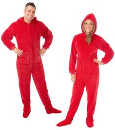 Hoodie Pajamas  The number 2 most popular Hoodie Footed Plush pajamas for  Christmas is Red 51e00aacb