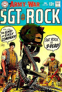 Our Army At War 202 - Sgt. Rock - Joe Kubert