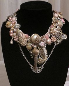 Hey, I found this really awesome Etsy listing at https://www.etsy.com/listing/109978737/amazing-rhinestone-necklace-blush-n