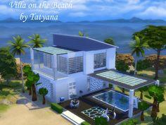Villa on the Beach (No CC) at Tatyana Name via Sims 4 Updates