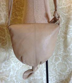 Vintage Etra Crossbody Knot Bucket Bag Purse on Etsy, $34.00