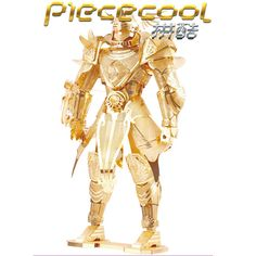 Piececool Knight of Firmament 3D Metal Puzzle Model DIY Laser Cut Toys #Piececool