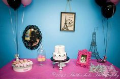 Angelique's 1st Birthday Party Paris Theme by Party Elegance Events #paristhemeparty #Parisianthemeparty Parisian Theme Party