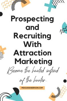 FREE Course: Prospecting and Recruiting With Attraction Marketing - How To Grow Network Marketing, M Sales And Marketing, Business Marketing, Social Media Marketing, Marketing Ideas, Direct Marketing, Internet Marketing, Network Marketing Tips, Marketing Strategies, Direct Sales Recruiting