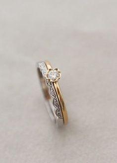 e4bb85b1e91b Thora Flower ring i gult guld : Annette Tillander Webshop #weddingring  Guldringar, Diamantringar,