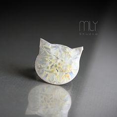 Kot - pierścionek w MLY Studio na DaWanda.com